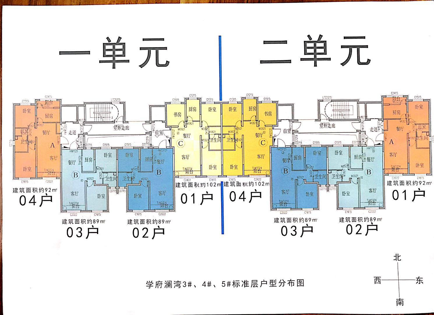 户型分布图